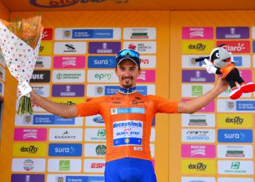 Julian Alaphilipe, monumental en La Unión y nuevo líder del Tour Colombia UCI 2.1