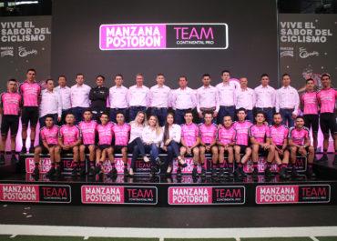 Manzana Postobón presentó su nómina y está listo para afrontar el Tour Colombia 2.1