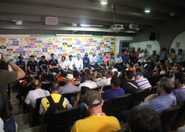 Congresillo técnico y programa de apertura Tour Colombia 2.1
