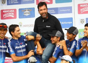 """""""Vamos a intentar ganar el Tour Colombia"""" José Julián Velásquez"""