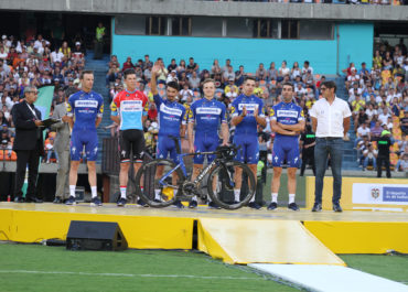 Deceunick Quick-Step confirma su sexteto para el espectáculo del Tour Colombia 2.1