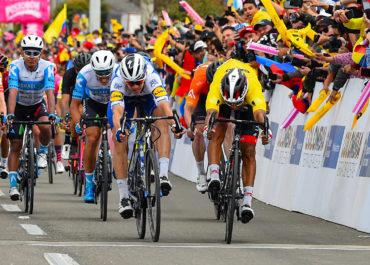 Sebastián Molano hace el triplete en Zipaquirá. Sergio Higuita sigue líder del Tour Colombia 2020