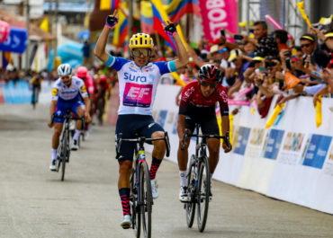 Sergio Higuita monumental en Santa Rosa de Viterbo y nuevo líder del Tour Colombia 2020